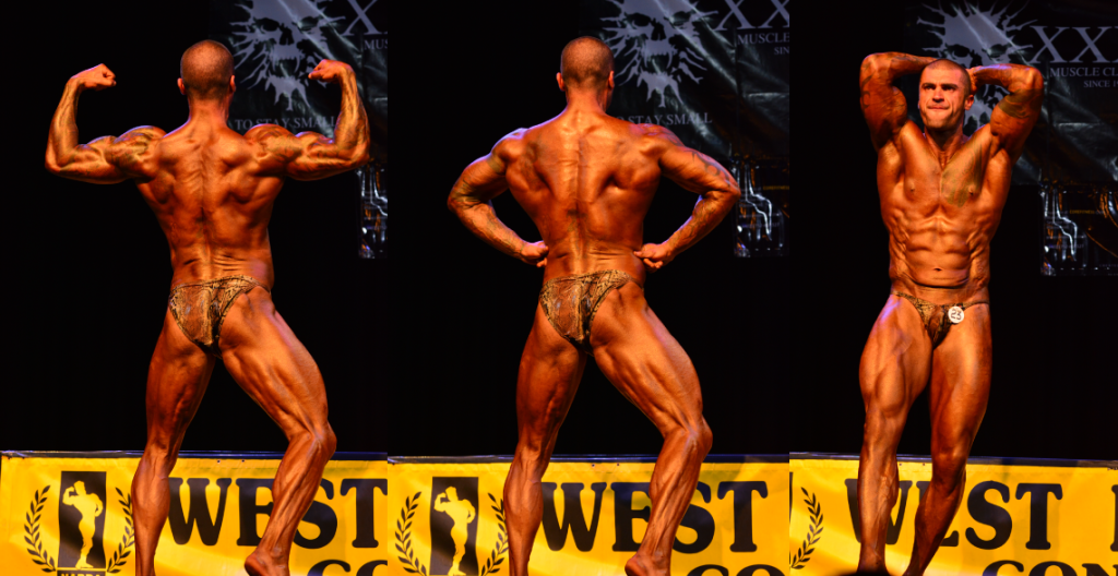 On stage NABBA West 2015